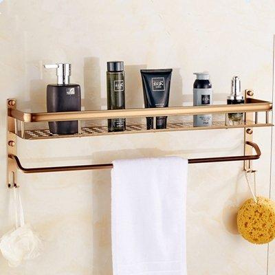 TougMoo Förderung Öl rieb Bronze an der Wand montierte Bad Dusche Caddy kosmetische Korb Regal Regal, Klar