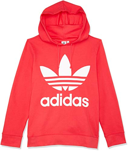 adidas Damen Trefoil Hoodie, Core Pink, 38 -