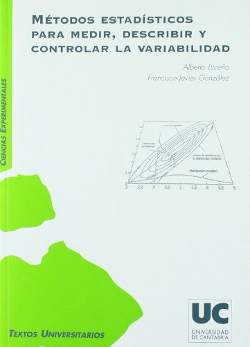 Métodos estadísticos para medir, describir y controlar la variabilidad (Manuales)