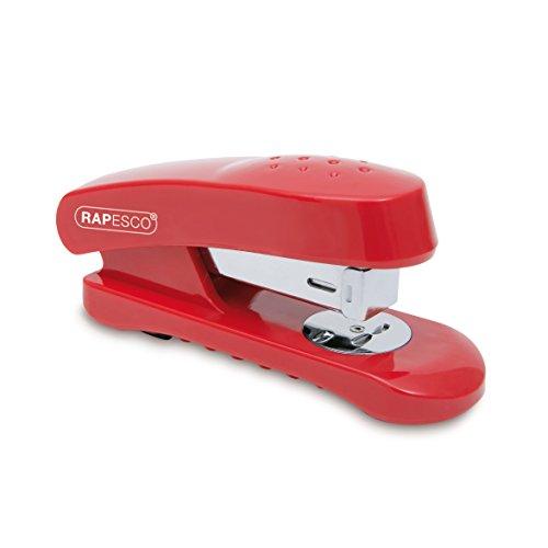 Rapesco R53800R1 Cucitrice da Scrivania, Colore Rosso