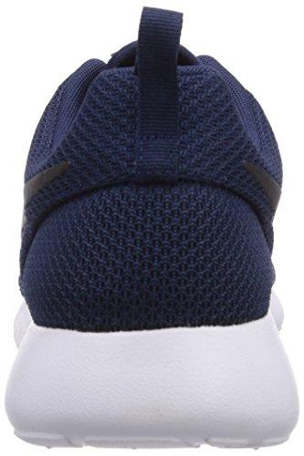 Nike Roshe Run, Chaussures de running entrainement mixte adulte Bleu (Blau Midnight Navy/Black/White 405)