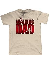 vectorbomb, The Walking Dad drôle T-shirt pour hommes (s pour 5XL)