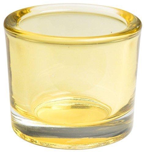 Glasteelicht Teelichthalter Teelichtgläser Kristall 7 x 6,5cm