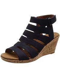 56f79400c9f Amazon.es  Rockport - Sandalias de vestir   Zapatos para mujer ...