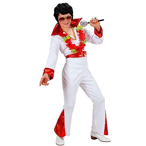 WIDMANN 74587 - Costume da Re del Rock, in Taglia 8/10 Anni