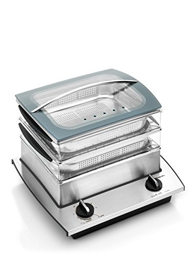 Dejelin Dampfgarer Nutri Steamer 1700 Watt - ein MustHave
