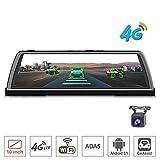 10'Touch IPS dashboard 4G Car DVR Dash Camera Recorder Specchietto retrovisore Android GPS Bluetooth WIFI Monitor ADAS ADAS