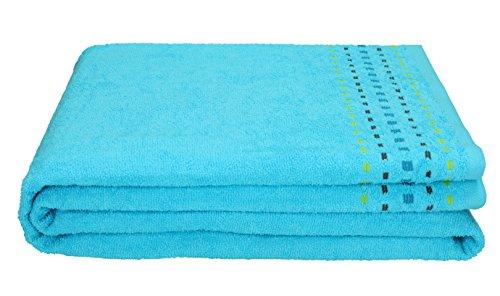 Betz Duschtuch Badetuch Duschhandtuch Größe 100x150 cm 100% Baumwolle Verschiedene Farben Farbe Türkis (Frottier-badelaken)