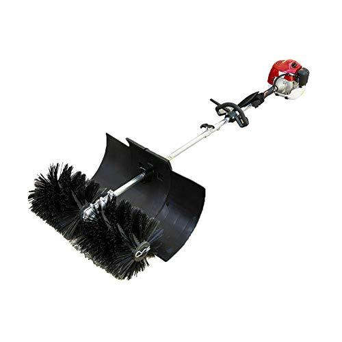 Kehrmaschine Straßenbesen Benzin Power Motorbesen Sweeper Motor Besen Schneefräse 2,3 PS 52cc