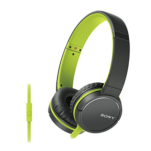 Sony MDR-ZX660AP Kopfhörer mit Headsetfunktion und In-Line-Remote grün