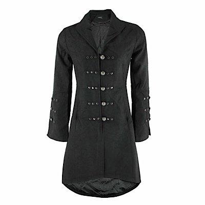 Breve cappotto AMANITE COAT black nero 42