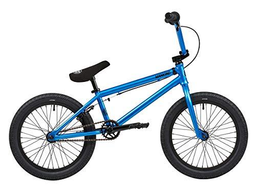 Mankind Bike Co. NXS 18 2019 BMX Rad - 18 Zoll   Gloss Blue   blau
