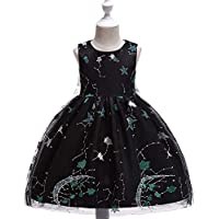 KOKQSX-La Pantalla Chica Vestidos Vestidos Prendas Vestidos de Princesa realizacion de Vestidos Black 150cm