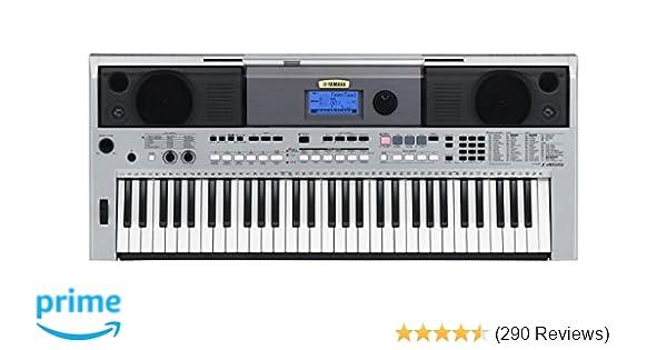 Yamaha Psri455 Digital Keyboard Silver