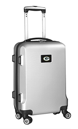 nfl-green-bay-packers-carry-on-hardcase-spinner-silver-by-denco