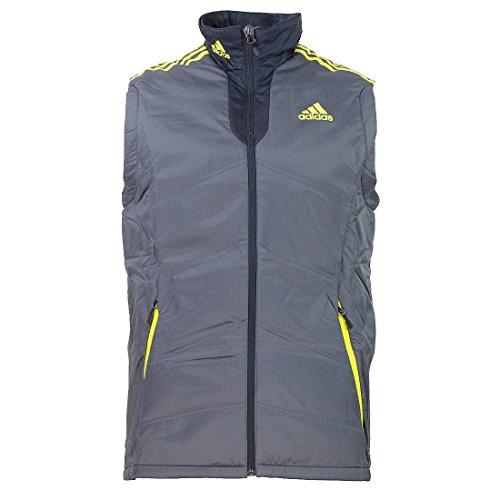 Adidas Herren PL Vest M Weste Performance grau Jacke Padded , Bekleidungsgröße:M
