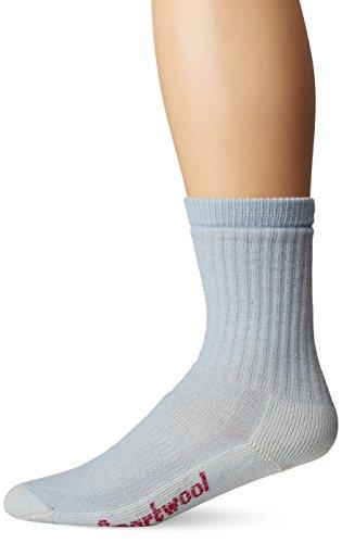 Smartwool Damen Women's Hike M Crew Socks, Blue Ice, S -