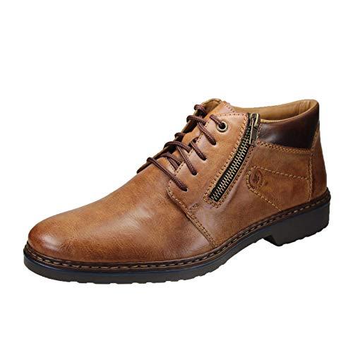 Rieker Herren 16539 Klassische Stiefel, Braun (Peanut/Kastanie 24), 45 EU