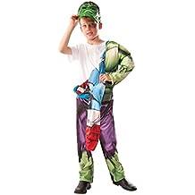 Rubies s oficial Marvel The Avengers–Disfraz de Hulk de Capitán América, los niños–tamaño mediano