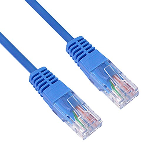 Preisvergleich Produktbild Netzwerkkabel Cat6 Rund SSTP / PIMF BLAU 20 Meter