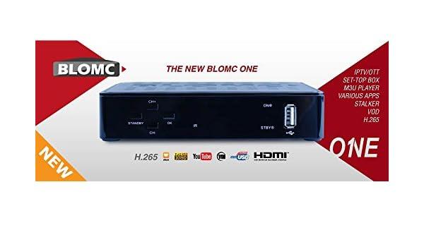 IPTV Blomc One S IPTV Setup BOX für S Portal und XtreamCodes Portale SAT