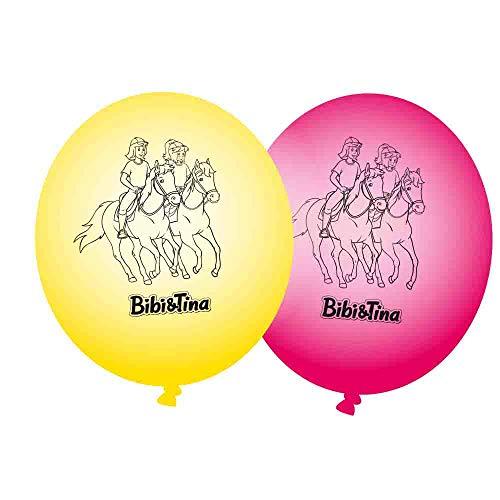 DH-Konzept Luftballons Bibi und Tina 8er Pack