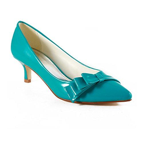 Miyoopark , Sandales Compensées femme Blue-5cm Heel