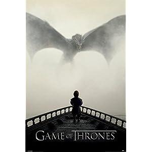 """Póster Game of Thrones/Juego de Tronos """"A Lion & a Dragon/Un León y un Dragón"""" (61cm x 91,5cm) 3"""