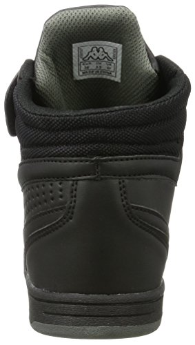 Kappa Forward Mid Teens, Baskets Hautes Mixte Enfant Noir (1111 Black)