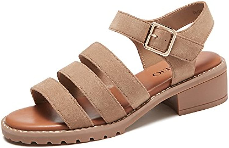 GONGFF Zapatos Planos Femeninos Con Hebilla De Fondo Plano, Zapatos De Gran Tamaño,#1,43 43|#1