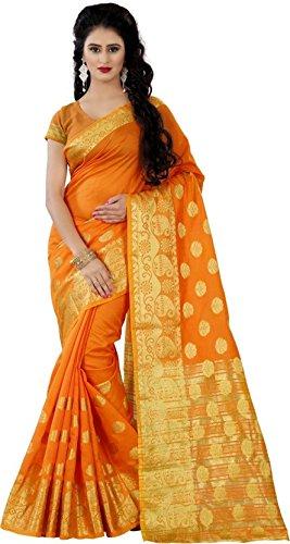 Trendz Style Woven Jacquard silk Saree(TZ_1145_D)