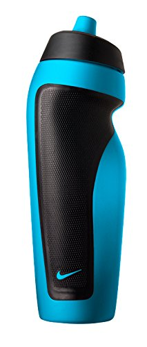 Nike Sport Water Bottle With Hang Tag Blue Lagoon Black (600 ml)