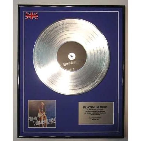 AMY WINEHOUSE/LTD Edicion CD platinum disc/BACK TO BLACK