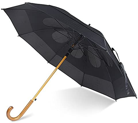 Cloudnine Storm Buster Ultimate 48-inch Automatic Golf Umbrella Cane Handle