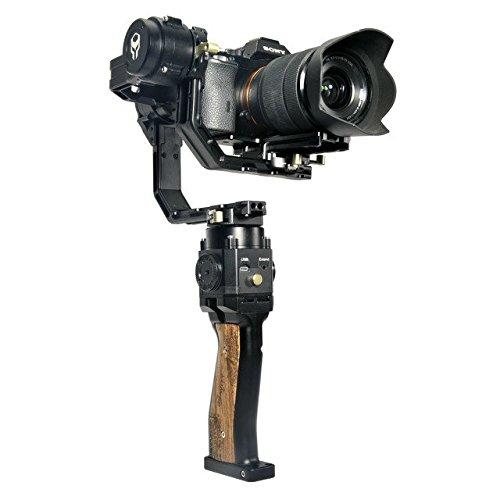 Tilta G1 gravedad gr-t02 3 ejes Handheld Gimbal Estabilizador para Cámaras Réflex Digitales y cámaras sin espejo Smartphones GoPros MCUs de 32 bits CNC aleación de aluminio construcción 360 ° motores sin escobillas Canon EOS 5d mark IV III 7d Sony A7 A7R A7S II A9 A6300 A6500 Panasonic Lumix GH4 GH5 Nikon D750 D810 D800E hasta 6,6 libras/3 kg jaula Rig …