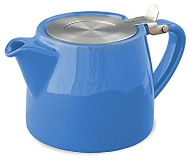 510 g (Bleu 530 ml/2 tasses Par feuille) FORLIFE Théière avec infuseur