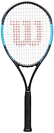 Wilson Unisex Adult 2-WRT30670U3 F Tek 105 Tennis Racket Without Cover - Black/Blue, Grip 3