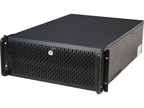 Rosewill RMS 4U Server Chassis/Server Fall/Rackmount Fall, Metall Rack Mount Computer Fall mit 8Buchten & 4Fans vorinstalliert (rsv-r4000) 4U, 12 Hot Swap Bays