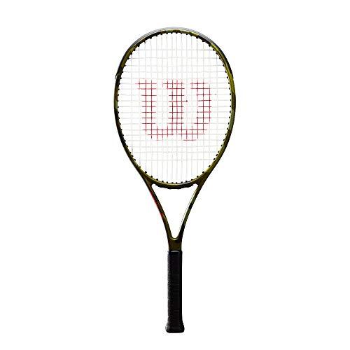 WILSON Blade 26 Camo Encordado: No 255G Raquetas De Tenis Raqueta De Niños Verde - 0