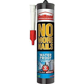 UniBond No More Nails Waterproof Cartridge - 300 ml