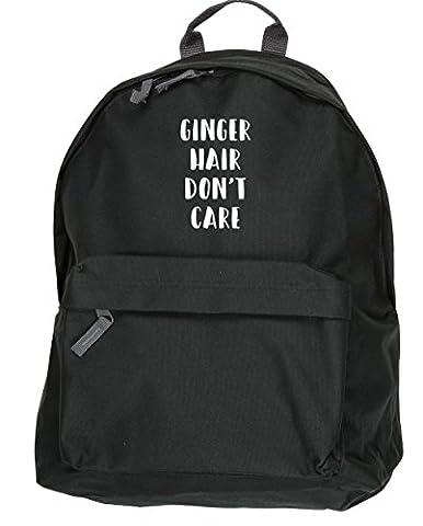 HippoWarehouse Ginger Hair Don't Care backpack ruck sack Dimensions: 31 x 42 x 21 cm Capacity: 18