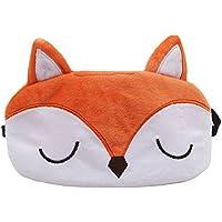 EJY Schön Tiermodellierung Schlafmaske Augenmaske - Für tiefen Schlaf und optimale Erholung (Fuchs) preisvergleich bei billige-tabletten.eu