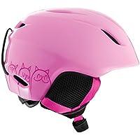 GIRO, Casco da sci Bambino Launch CP, Rosa (Light Pink Cats), M/L