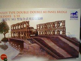 Unbekannt Bronco Models cb35055-Maqueta de Bailey Type Doble-Doble M1Panel BRIDG