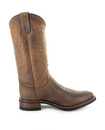 Sendra Boots  9263, Bottes et bottines cowboy mixte adulte Marron - Tangerine