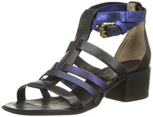 AirstepLoto 293002 - Sandali alla caviglia Donna , Nero (Noir (Nero)), 36