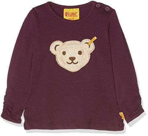 Steiff Steiff Baby-Mädchen Langarmshirt T-Shirt 1/1 Arm Violett (Pickled Beet Purple 7044) 62