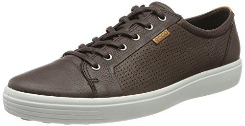 Ecco Mens Soft 7 Mens Sneaker Brown (caffè)