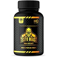 Test Booster for Men | 120 caps - Testosterone Supplement | High Quality & Potency | Natural Ingredients CO Enzyme Q10, MACA Root, Fenugreek Seed | Massive 1500mg Serving
