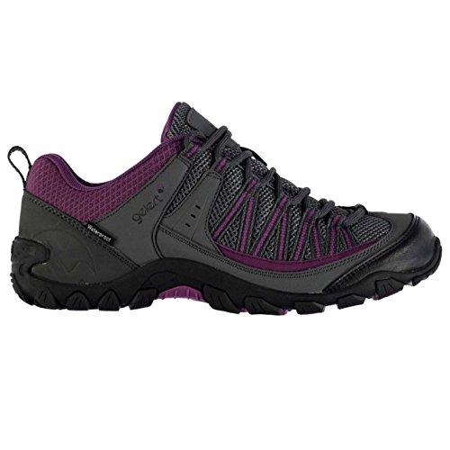 Gelert Damen Rocky Wasserdicht Wanderschuhe Outdoor Schuhe Atmungsaktiv Charcoal